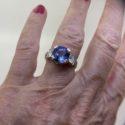 Rings and hand sanitiser