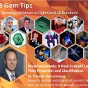 Interesting Webinars from AIGS. Great to learn about gems and jewellery.